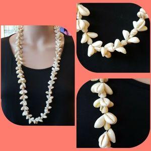 NEW Hawaiian tropical seashell necklace longer